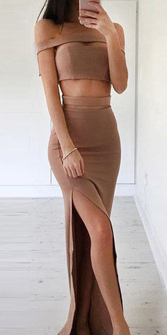 products/Simple_Brown_Two_Piece_Sheath_Prom_Dress_-_Off_the_Shoulder_Split_Floor_Length_2.jpg