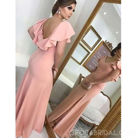 products/Soft_Gorgeous_Sheath_V-Neck_Ruffled_Sleeves_Split_Pink_Long_Prom_Dresses_Evenign_Dress.jpg