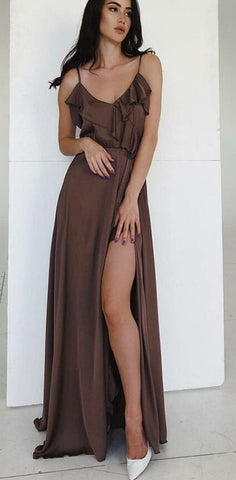 products/Spaghetti_Straps_Simple_Cheap_Long_Chocolate_Prom_Party_Dress_with_Ruffles_Split_2.jpg