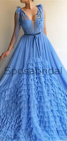 products/Unique_A-line_Blue_Tulle_V-Neck_Modest_Prom_Dresses_2.jpg