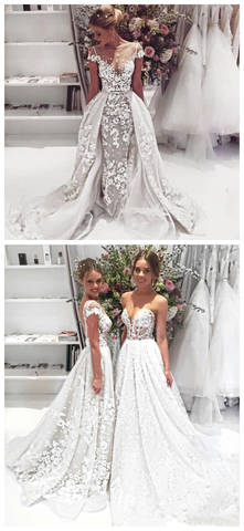 products/Unique_Design_Cap_Sleeves_Lace_Illusion_Popular_Wedding_Dresses_Princess_Modest_Beach_Romantic_Fall_Ball_Gown.png