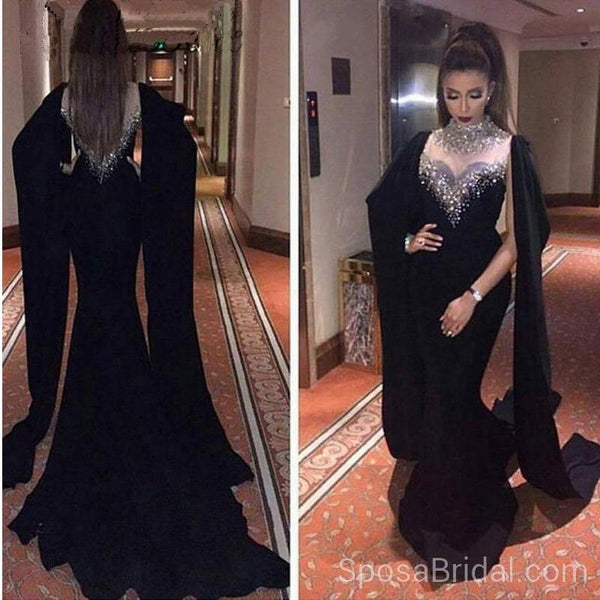 Unique Design Mermaid  Sexy Elegant Modest Long High Quality Prom Dresses , PD1299