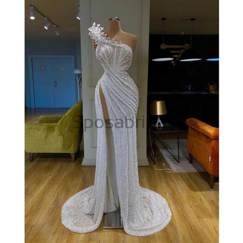 products/Unique_Elegant_One_Shoulder_Sequin_Mermaid_Ivory_Long_Modest_Prom_Dresses_with_high_slit_1.jpg