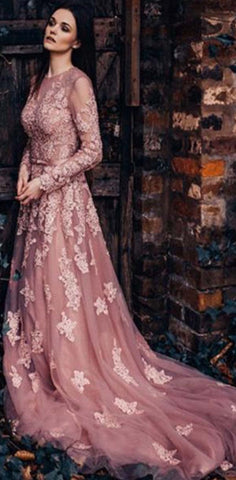products/Unique_New_Round_Neck_Formal_Modest_Long_Sleeves_A-line_Prom_Dresses_With_Lace_Appliques.jpg