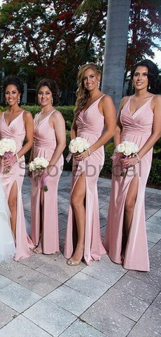 products/V-Neck_Pink_Side_Slit_Mermaid_Simple_Formal_Elegant_Bridesmaid_Dresses_2.jpg