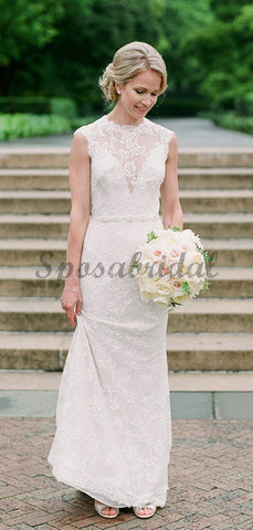 products/Vintage_Lace_Cap_Sleeve_See_Through_Neckline_Sheath_Wedding_Dresses_DB0167-3.jpg