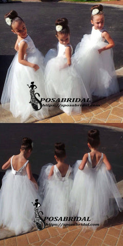 products/White_Sccop_Cute_Lovely_Affordable_New_Flower_Girl_Dresses_Junior_Bridesmaid_Dresses_3.jpg