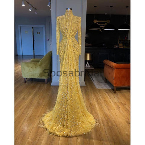 products/YellowSequinSparklyLognSleevesHighNeckFormalPromDresses_2.jpg