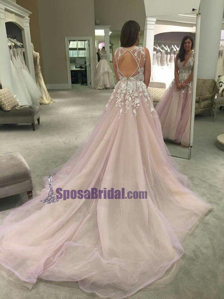 V-Neck Sexy Off Shoulder Charming Party Evening Long Prom Dresses Online, wedding dresses, PD0128