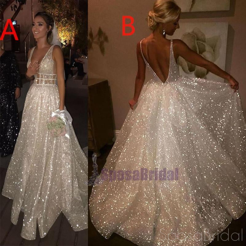 2018 Sparkly New Unique Design Shining Stunning Charming Elegant Affordable Prom Dresses, Evening party dress, PD0611