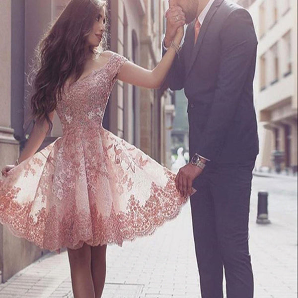 2016 Lace off shoulder floral prints elegant junior formal homecoming prom gown dress,BD00114