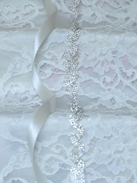 Thin Bridal Belt,Wedding Belt,Sparkly Beading Belt,Gorgeous Silvery Beading Belt, SA0023
