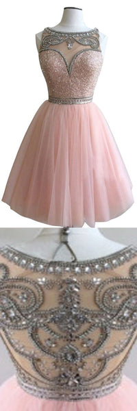 Dark pink gorgeous  Stunning casual homecoming dresses, BD00154