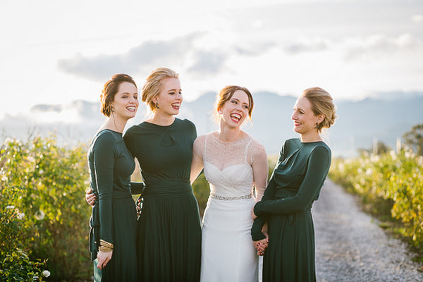 Five  Bridesmaid Dresses for Sarah Barfield