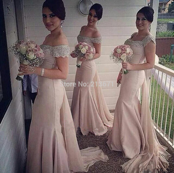 Custom  Bridesmaid Dresses for Dwan Bullock