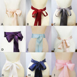 Simple Sash, Satin Sash,Different Color Sashes, Cheap Sash,Flower Girl Sash,Bridesmaids Sash, SA0014