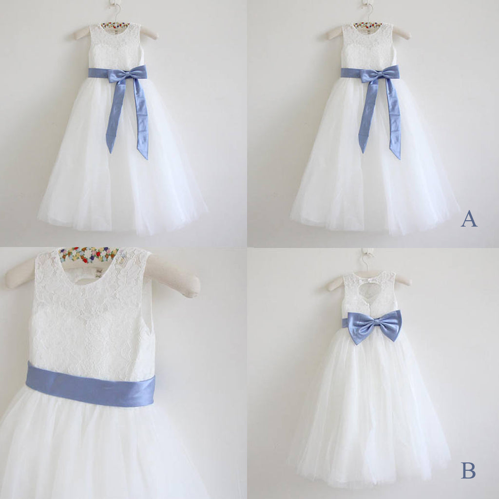 Flower Girl Sash, Satin Sash, Cheap Sash,Flower Girl Sash,Sky Blue Sash,Bow Sash, SA0038