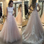 Lace A-line Ball Gown Elegant Charming Formal Prom Dresses. BD0301