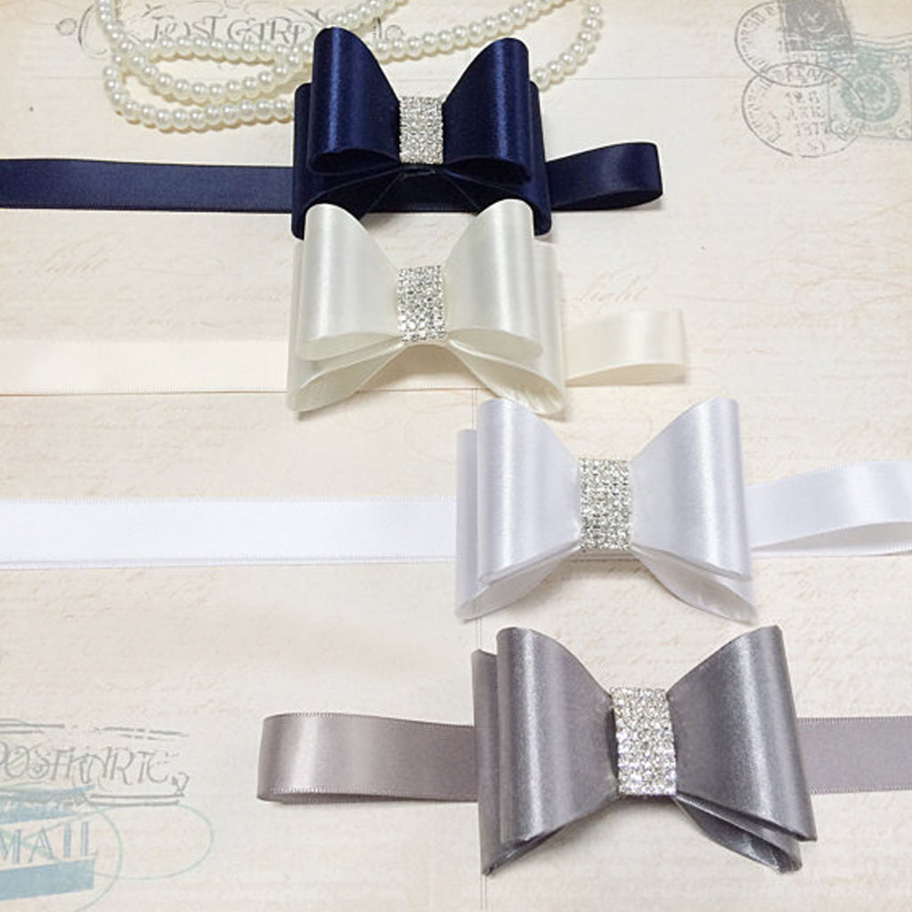 Vintage Bow Knot Girl Sash,Gorgeous Beading Sash,Different color Bridesmaids Sash,Elegant Satin Sash, SA0005