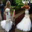 Vintage Sweetheart Satin Wedding Party Dresses With Appliques, Tulle Bridal Gown, WD0054
