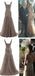 Popular Stunning V-neck Lace up Rhinestone Mermaid Bridal Gown, Wedding Dresses, WD0057