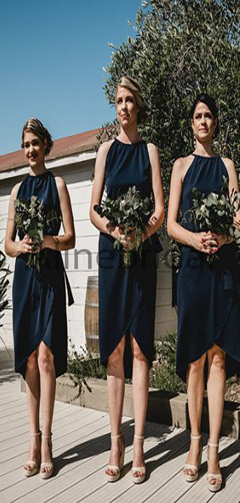 Affordable Short Unique Design Popular Bridesmaid Dresses AB4200
