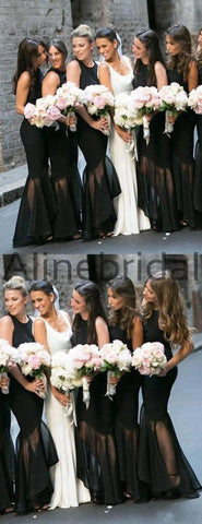 products/Black_Jersey_Organza_Mermaid_High_Low_Unique_Long_Bridesmaid_Dresses_AB4083-2.jpg