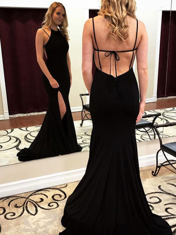 products/Black_Jersey_Spaghetti_Strap_Backless_Mermaid_Halter_Simple_Prom_Dresses_PD00239-1.jpg