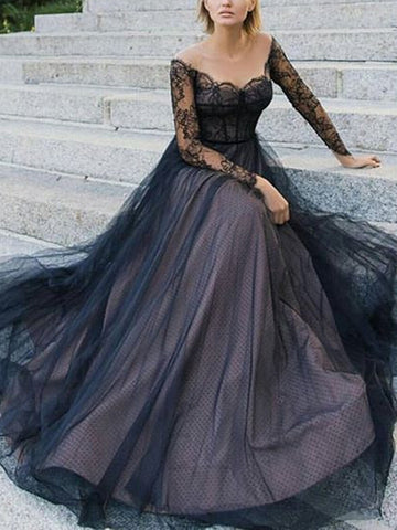 products/Black_Lace_Long_Sleeve_Off_Shoulder_Lace_Up_Back_Prom_Dresses_PD00230-1.jpg