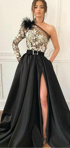 products/Black_One_Shoulder_Long_Sleeve_Lace_Satin_Prom_Dresses_PD00202-2.jpg