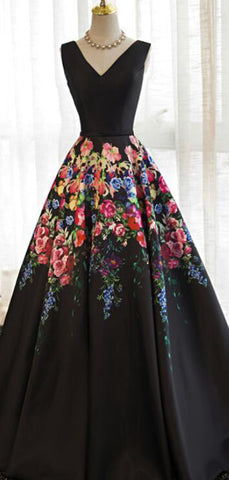 products/Black_Satin_Floral_Prints_Sleeveless_Lace_Up_Back_Prom_Dresses_PD00295-2.jpg