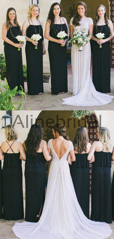 products/Black_Spaghetti_Strap_With_Side_Slip_Long_Bridesmaid_Dresses_AB4111-4.jpg