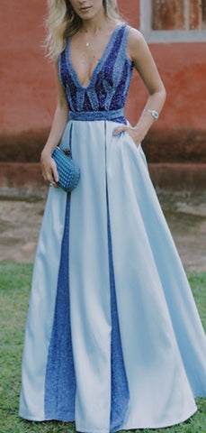 products/Blue_Satin_V-neck_Sleeveless_With_Pockets_A-line_Prom_Dresses_PD00323-2.jpg