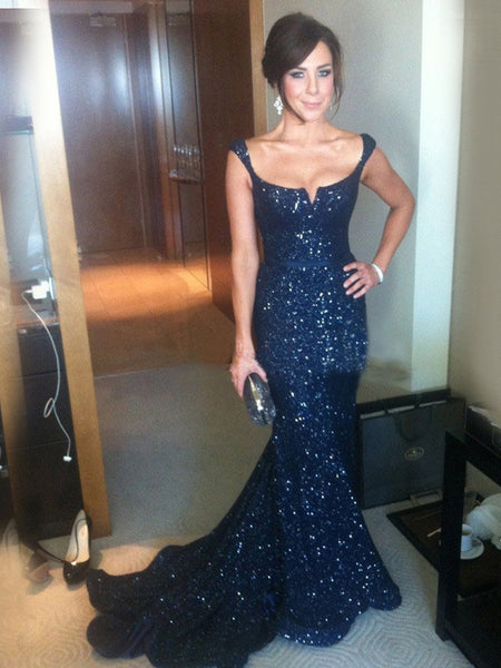 ab872d15056 FEATURED PRODUCTS. Your product s name.  200.00. New Arrival Navy Sequin  Sparkly Sexy Elegant Formal Evening Party Prom Gown Dress.