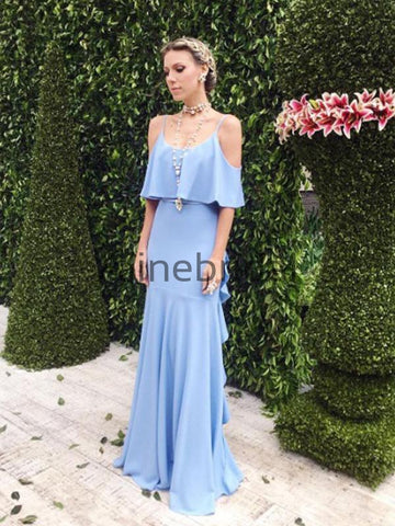 products/Blue_Spaghetti_Strap_V-back_Ruffles_Bridesmaid_Dresses_AB4091-1.jpg