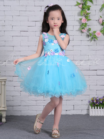 products/Blue_Tulle_Colorful_Floral_Applique_Cute_Flower_Girl_Dresses_FGS126-1.jpg