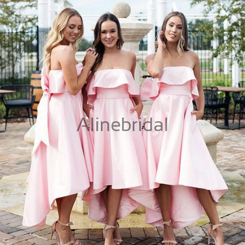 products/Blush_Pink_Satin_Strapless_Bow_Knot_High_Low_Bridesmaid_Dresses_AB4008.jpg