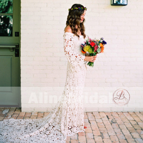 products/Bohemian_Wedding_Off_Shoulder_See_Through_Ivory_Lace_Long_Sleeves_Wedding_Dresses_AB1157-1.jpg