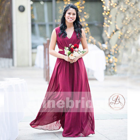 products/Burgundy_Chiffon_Unique_Long_Sleeveless_V-neck_A-line_Bridesmaid_Dresses_AB1228-1.jpg