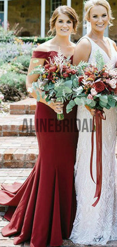 products/Burgundy_Jersey_Off_Shoulder_Mmermaid_Long_Bridesmaid_Dresses_AB4028-2.jpg