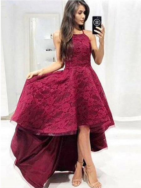 351f0d8ebae FEATURED PRODUCTS. Your product's name. $200.00. Burgundy Lace High Low  Spaghetti Straps Charming A-line Prom Dresses ...