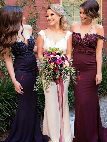 products/Burgundy_Off_Shoulder_Applique_Mermaid_Fashion_Bridesmaid_Dresses_AB4031-1.jpg