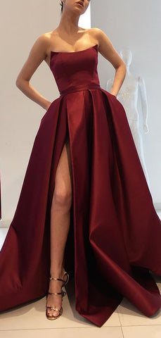 products/Burgundy_Satin_Strapless_Pockets_Ball_Gown_Fashion_Prom_Dresses_PD00152-2.jpg