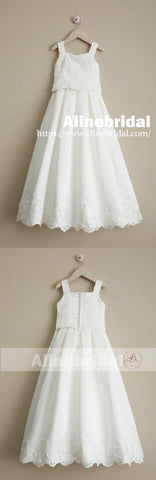products/Charming_Elegant_Ivory_Lace_Square_Neck_Sleeveless_Long_A-line_Flower_Girl_Dresses_FGS091-2.jpg