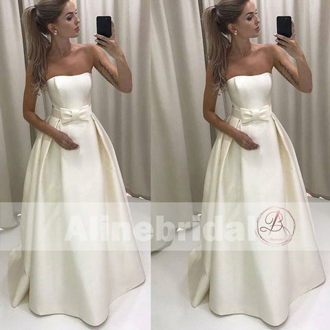 products/Cheap_Ivory_Satin_Strapless_Ball_Gown_Wedding_Dresses_With_Bow_Sash_AB1148-1.jpg