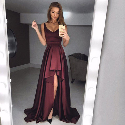 products/Dark_Burgundy_Soft_Satin_High_Low_Sleeveless_Long_Prom_Dresses_PD0152.jpg