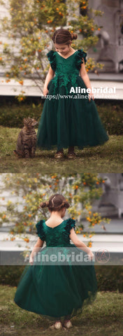 products/Dark_Green_Appliques_Tulle_Pretty_Sleeveless_Long_Flower_Girl_Dresses_FGS072-2.jpg
