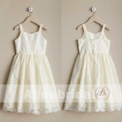 products/Dark_Ivory_Lace_Spaghetti_Straps_A-line_Flower_Girl_Dresses_FGS094-1.jpg
