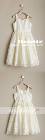 products/Dark_Ivory_Lace_Spaghetti_Straps_A-line_Flower_Girl_Dresses_FGS094-2.jpg