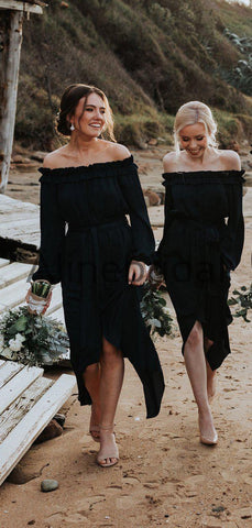 products/Dark_Navy_Off_Shoulder_Long_Sleeve_High_Low_Knee_Length_Bridesmaid_Dresses_AB4105-2.jpg